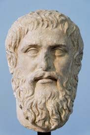 Image of Plato, the author or chronicler of the allegoty of the cave