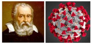 Images of Galileo & a Coronavirus
