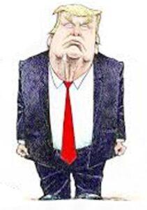 "Trump's vignette for ""A Stroke of Genius"""