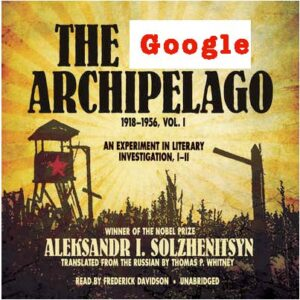 Image of front page of the google archipelago transformed into google archipelago